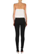 Load image into Gallery viewer, Pure Iconic Leather Skinny Ponte Pant