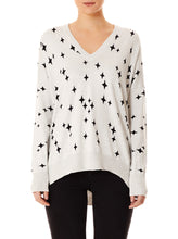 Load image into Gallery viewer, Sparkle V-Neck Sweater