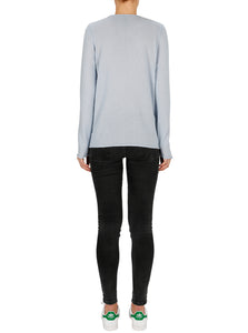 Superluxe Cashmere Self Roll Crew Neck