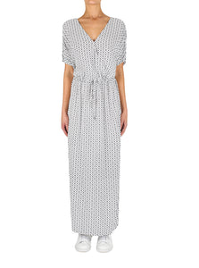 Urban Tile Maxi Dress
