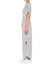 Load image into Gallery viewer, Urban Tile Maxi Dress