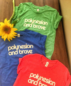 Polynesian And Brave (Kids Size)