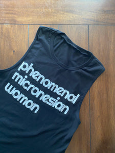Tank Top Phenomenal Micronesian Woman