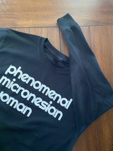 Long Sleeve Phenomenal Micronesian Woman