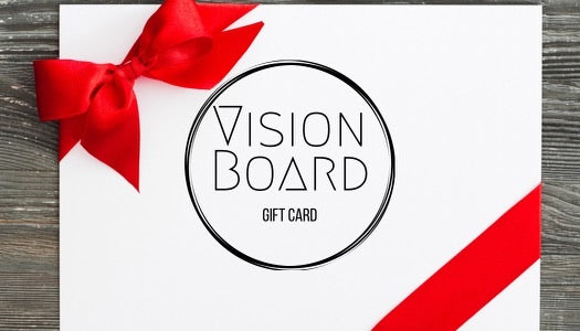 Vision Board Gift Card