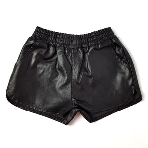 Summer Leather Shorts