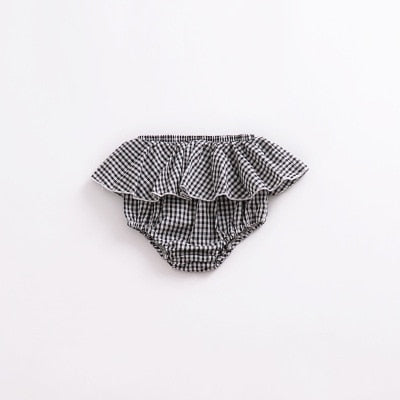 Girls Pattern Triangle Shorts