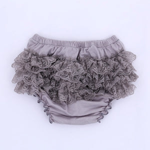Baby Cotton Lace Bloomers Shorts
