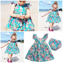 Load image into Gallery viewer, Lovely Summer Floral Dress