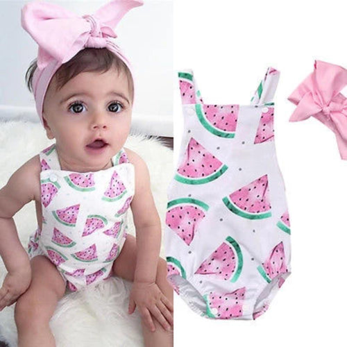 Watermelon Printed Outfits