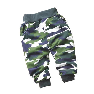 Lovely Cotton Camouflage Pants