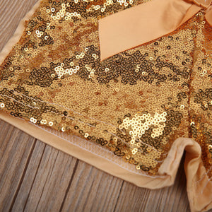 Party Sparkle Sequin Shorts