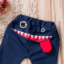 Load image into Gallery viewer, Cute Big Mouth Monster Trousers
