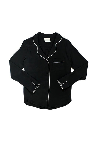 Bardot Blouse - Black