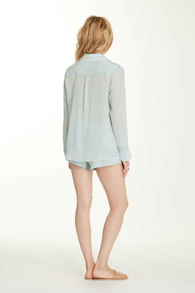 Bardot Blouse - Mint