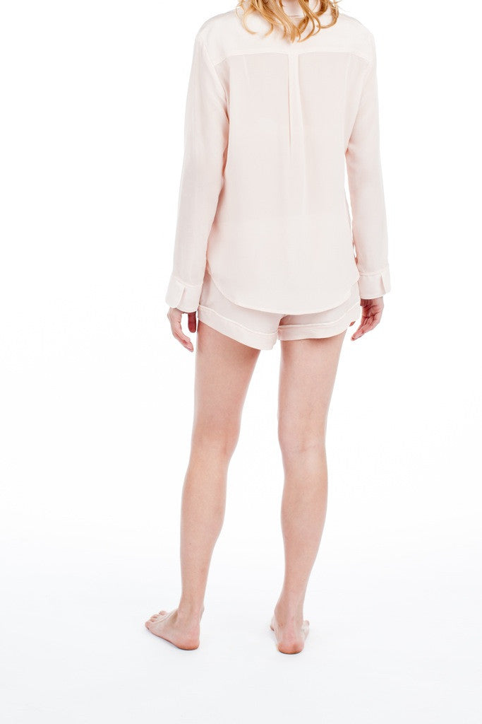 Bardot Blouse - Blush