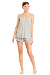 Coco Cami - Heather Grey Rib