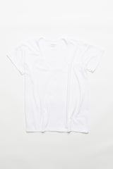 Drop Neck Top - White