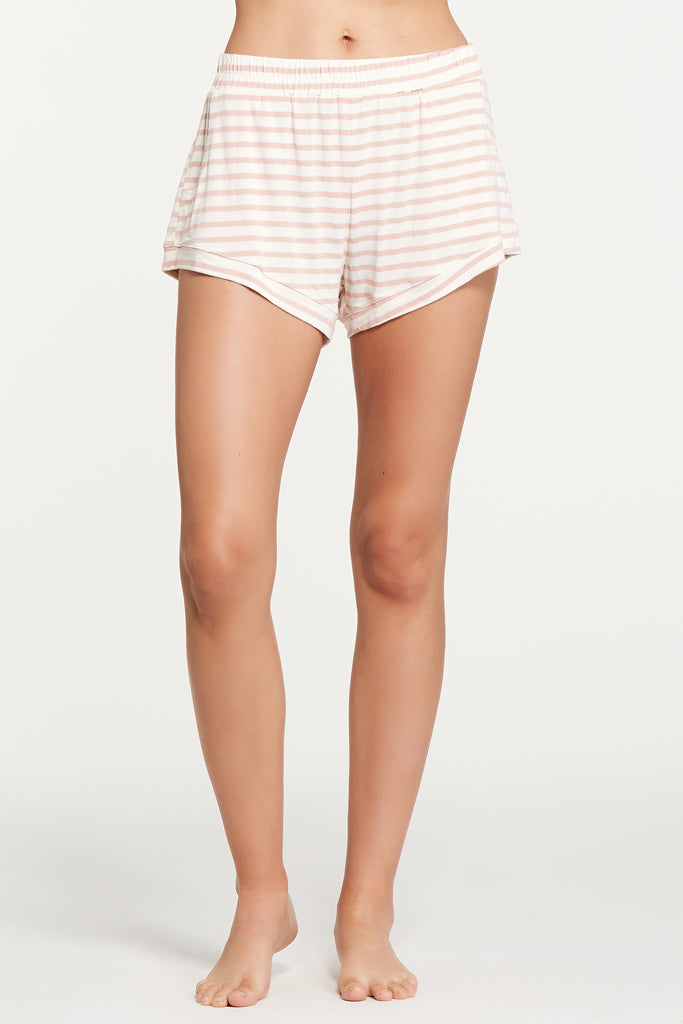 Elody Short - Rose Stripe
