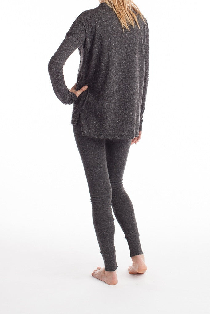 Edith Top - Charcoal