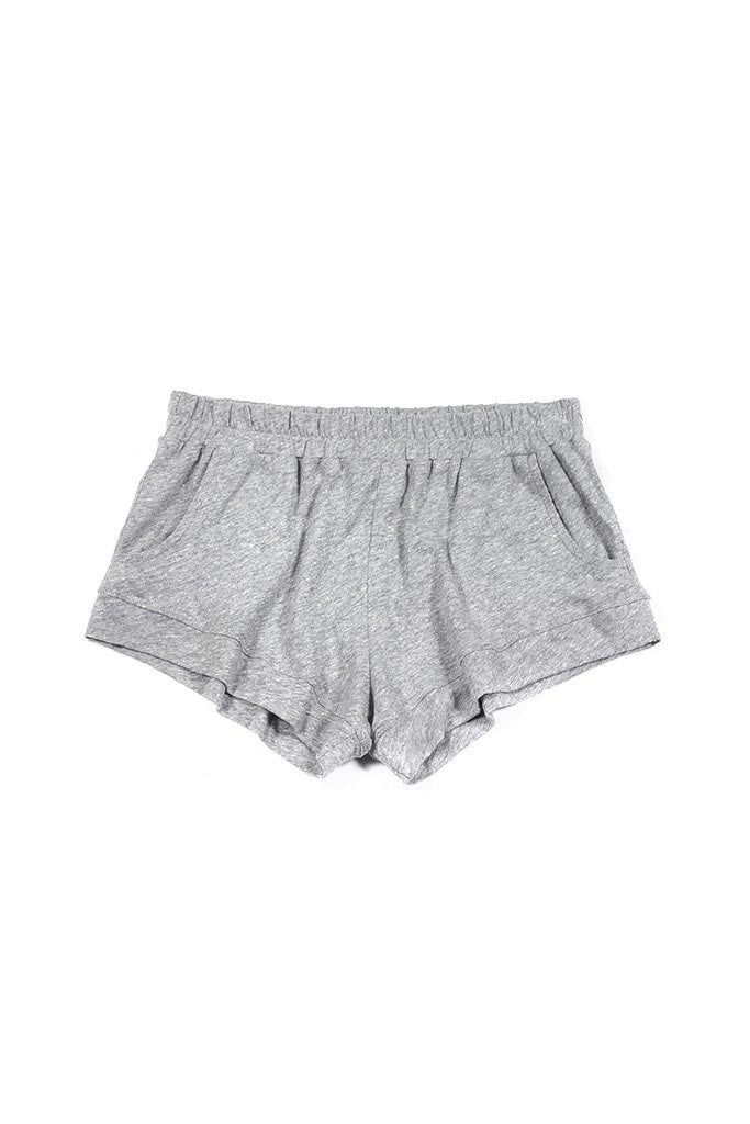 Elody Short - Light Heather Grey