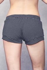 Elody Short - Black Stripe