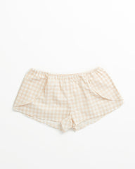 Eloise Short - Blush Gingham