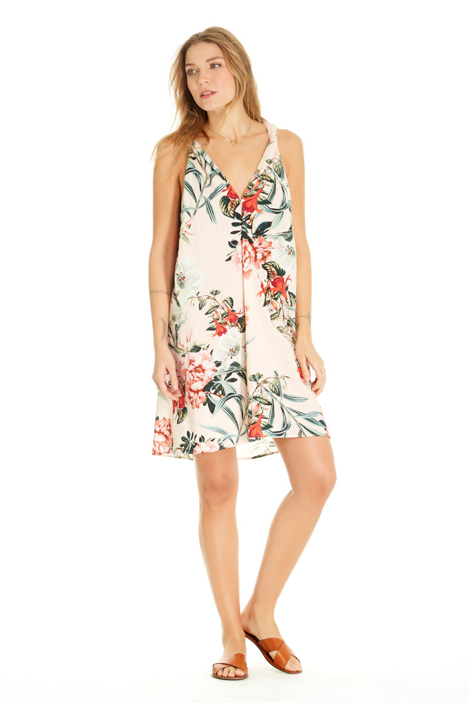 Emmie Dress - Light Pink Floral