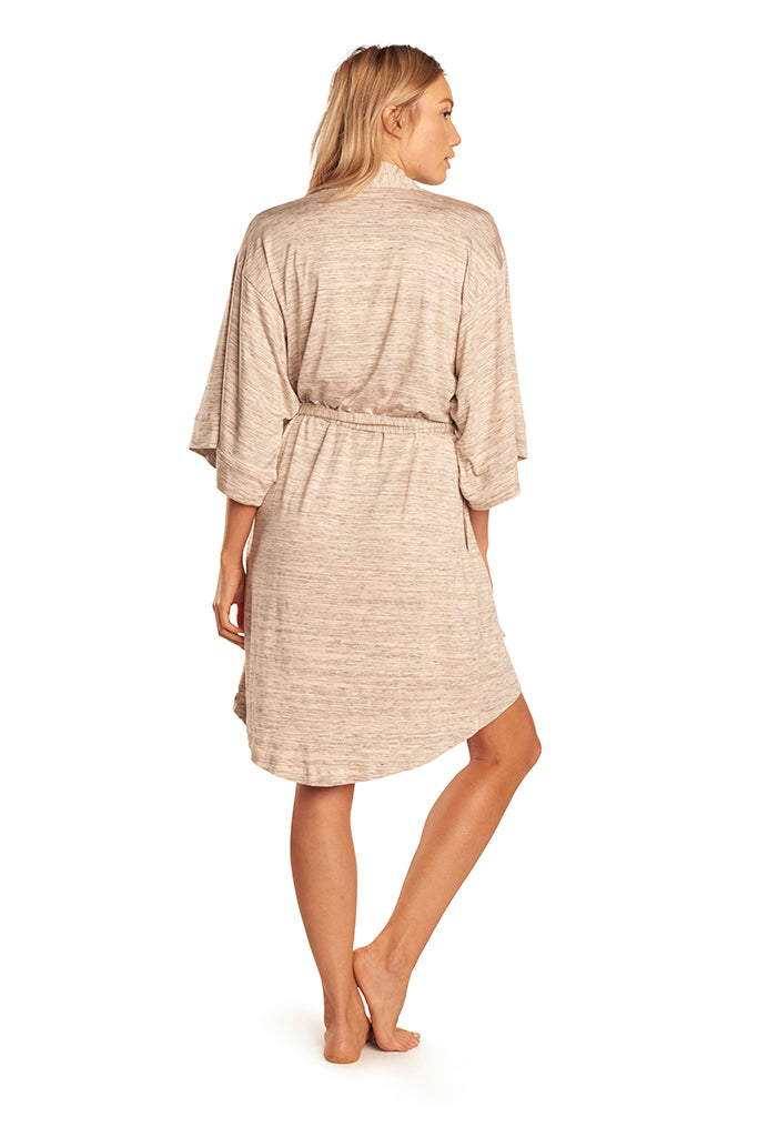 Florence Robe - Nude Space Dye