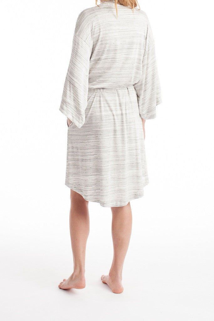 Florence Robe - Ivory Space Dye