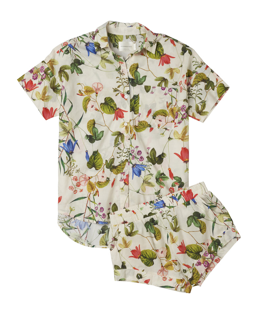 Gigi Top - Wallpaper Floral