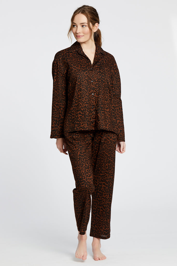 Hendricks Blouse - Cheetah Print