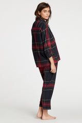 Hendricks Blouse - Tartan Plaid