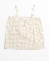Iris Cami - Blush Gingham