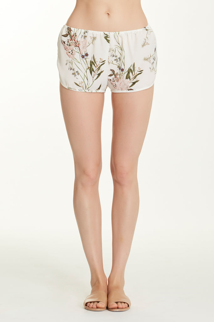 Lola Short - Pearl Floral