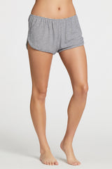Penny Short - Navy Stripe Rib
