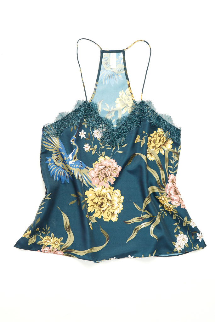Giselle Cami - Blue Swan Floral