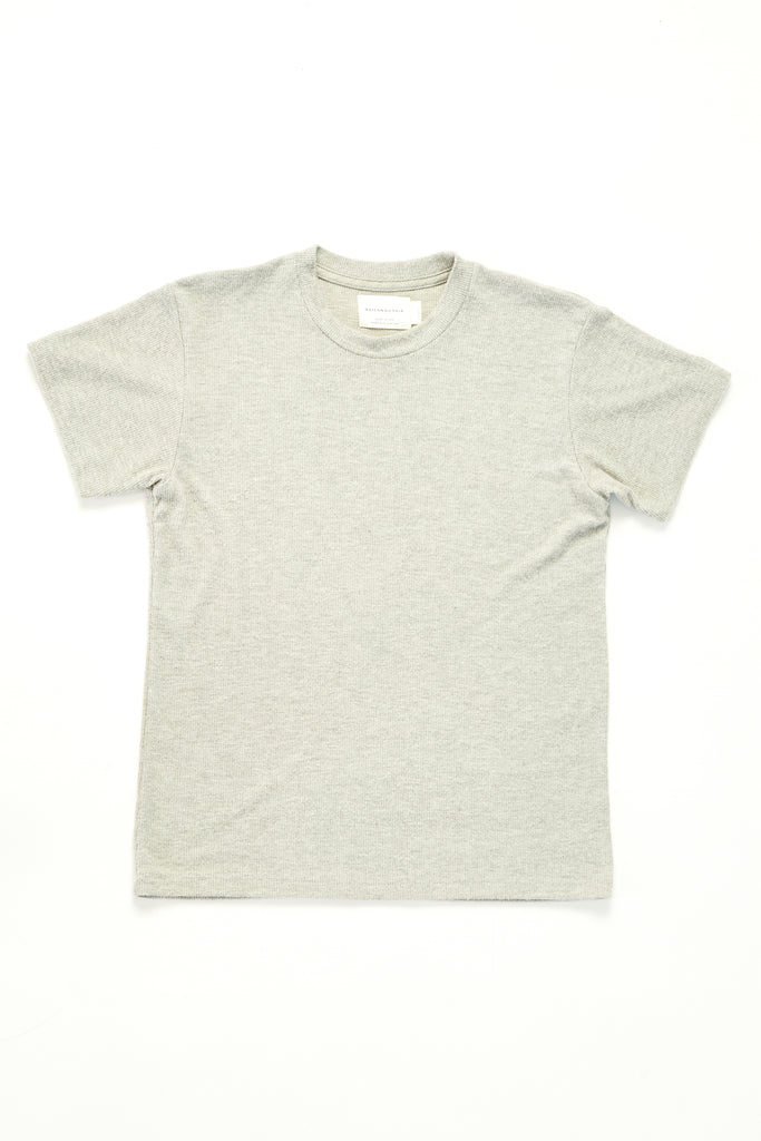 Luca - Heather Grey Rib