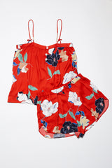 Firenze Short - Red Floral