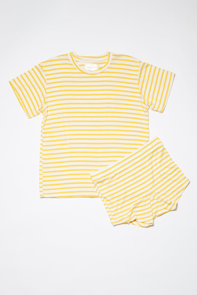 Penny Short - Yellow Stripe