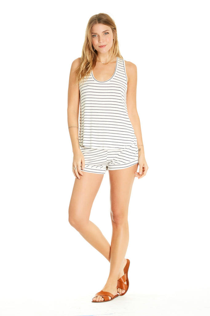 Petty Tank - Navy Stripe