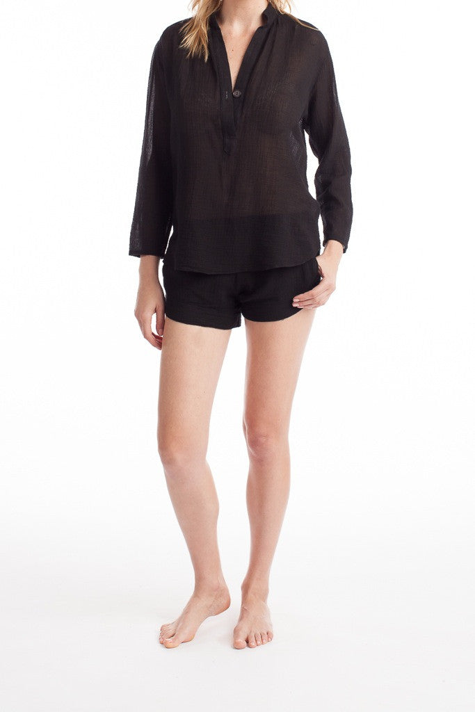Copenhagen Blouse - Black