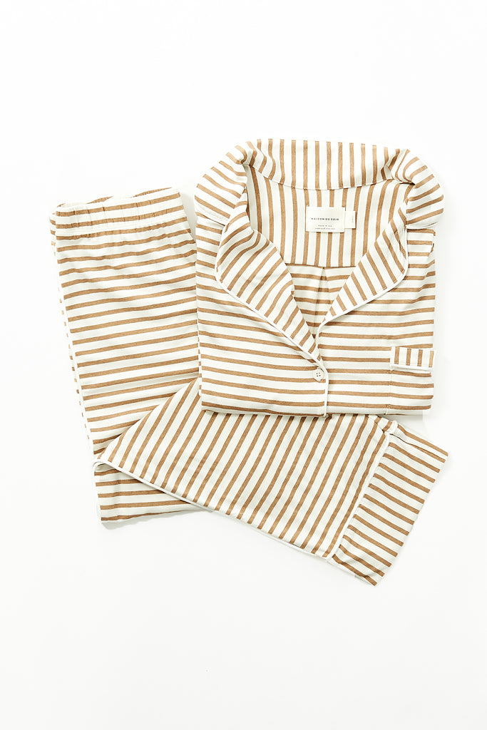 Monaco Set - Camel Stripe
