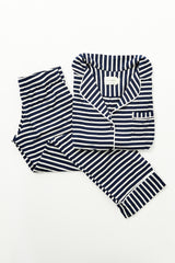 Monaco Set - Navy Stripe