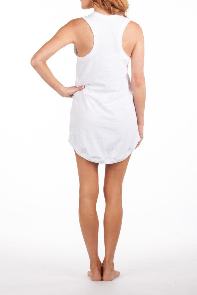 Menorca Dress - White