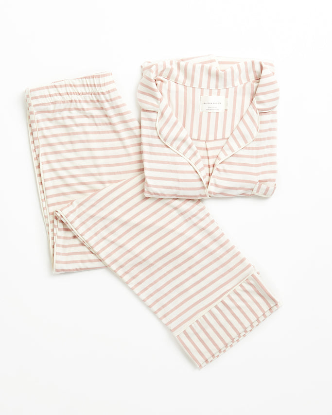 Monaco Set - Rose Stripe