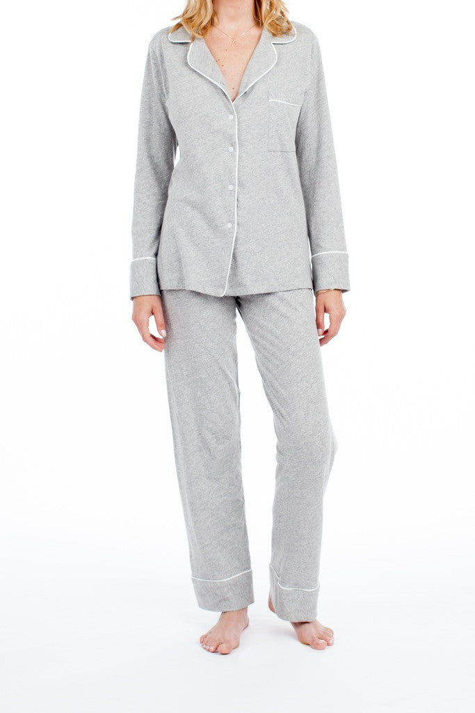 Monaco Set - Light Heather Grey