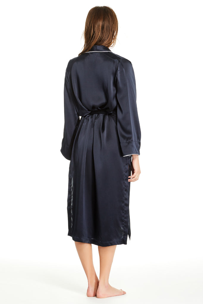 Olivia Robe - Dark Navy