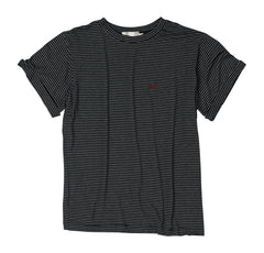 Oui Tee - Black Stripe