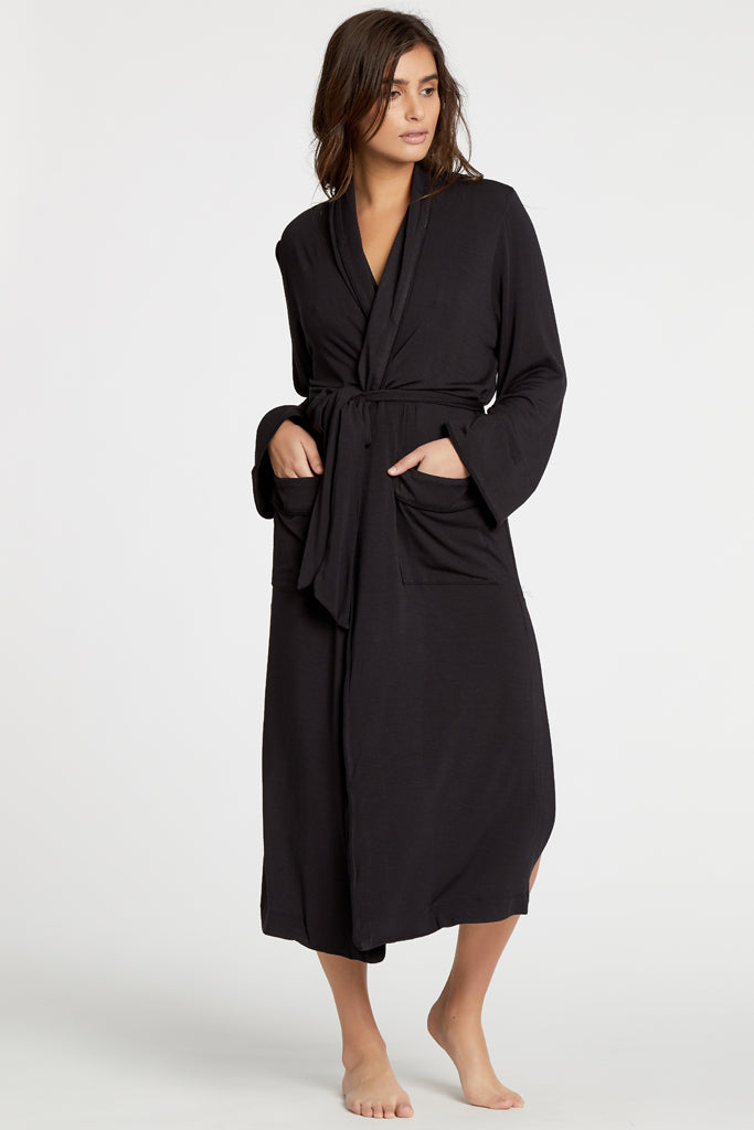 Palermo Robe - Black